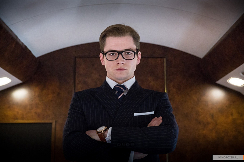 Kingsman: The Secret Service Eggsy Taron Egerton 2015 movie