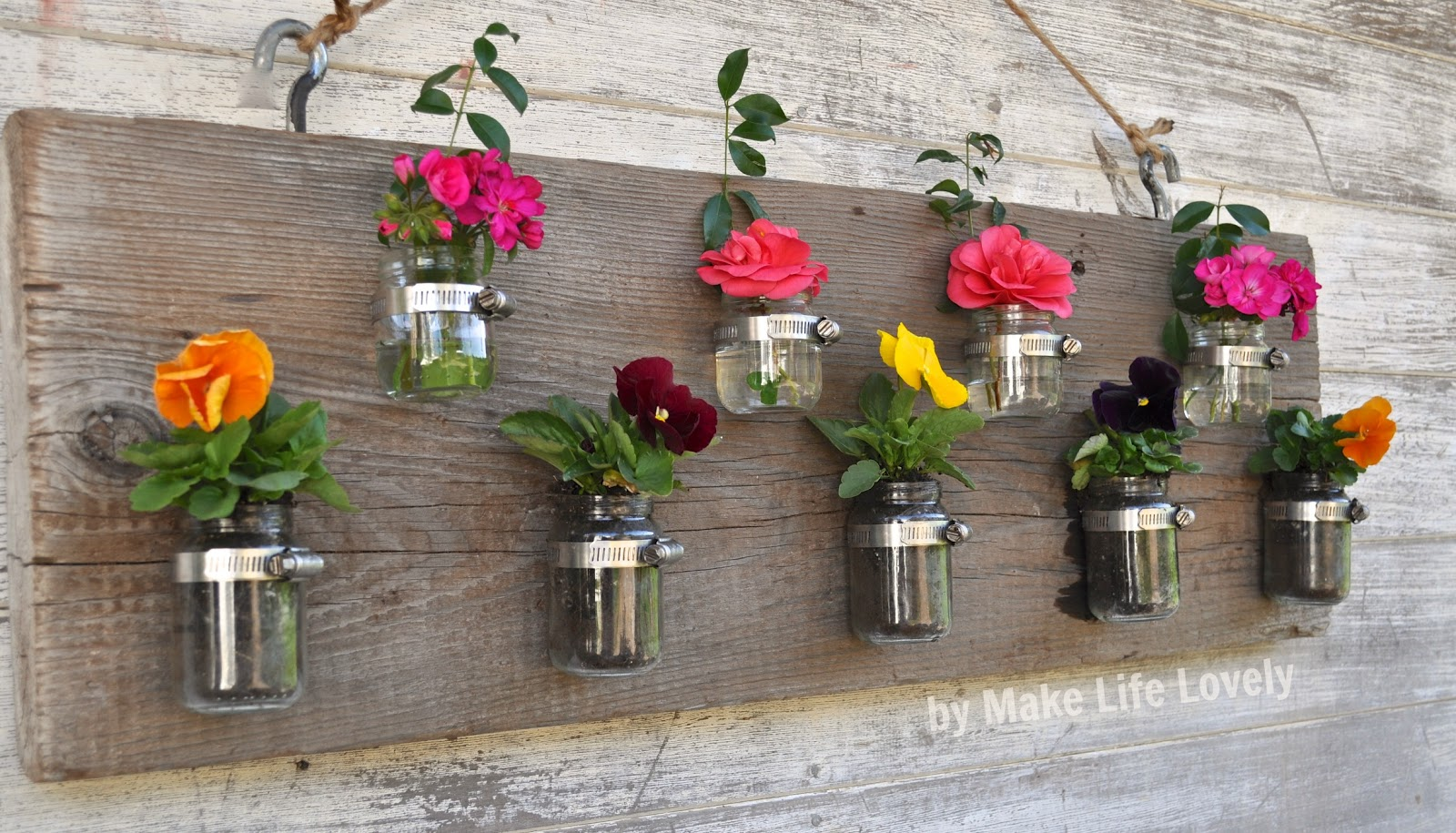 Upcycled baby food jars wood vase candleholder make life lovely upcycled baby food jars wood vase candleholder reviewsmspy