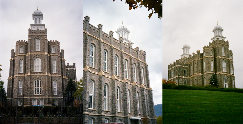 Logan Utah Temple, October 27, 1998