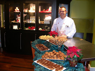 Christmas recipes at Savannah cooking classes | Photo courtesy Sandy Traub