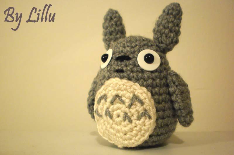 Totoro En Amigurumi : Lillusion: Totoro en amigurumi