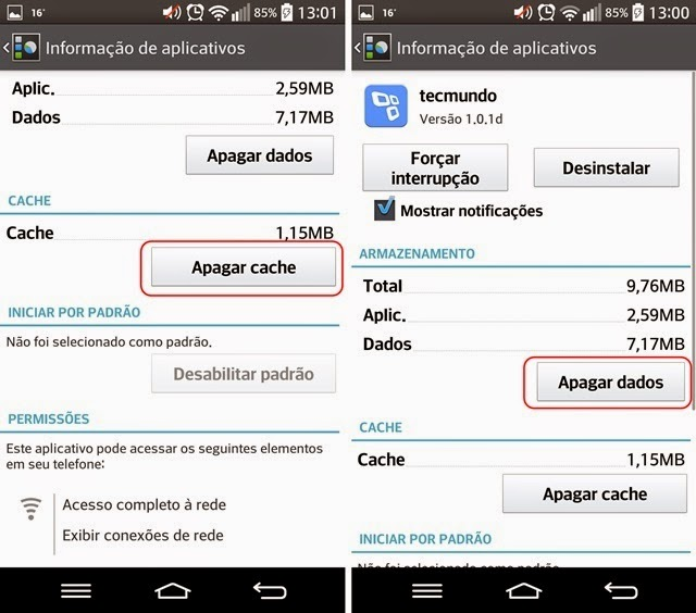 Como reparar o erro da Google Play no Android Lollipop