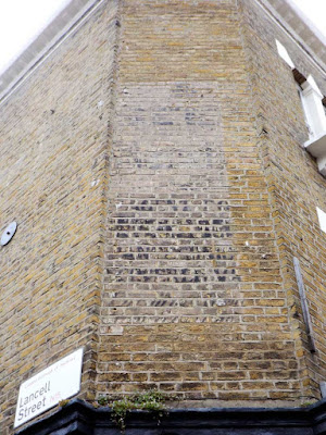 ghost sign lancell street stoke newington