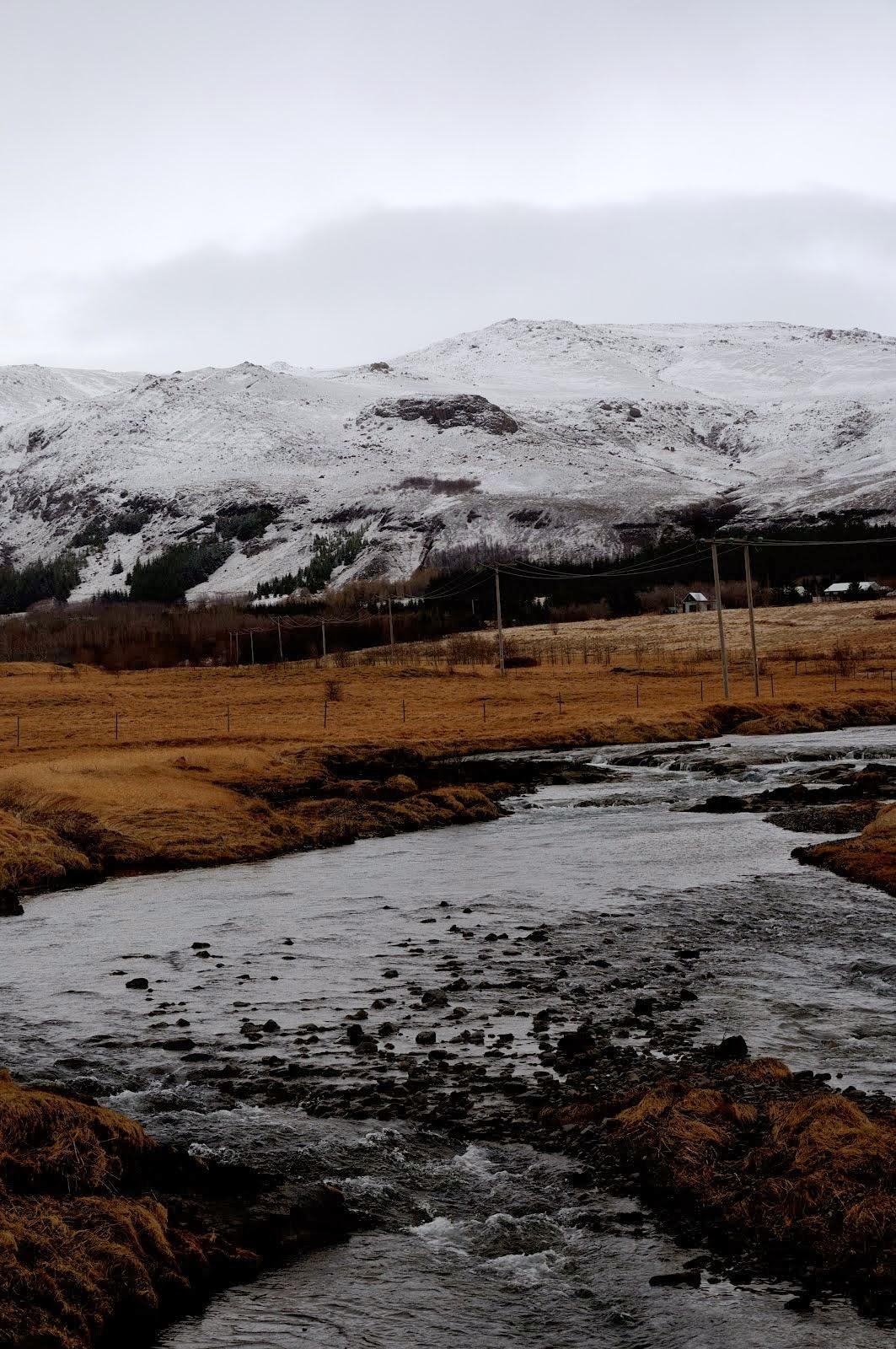 IJsland Gletsjer beek.
