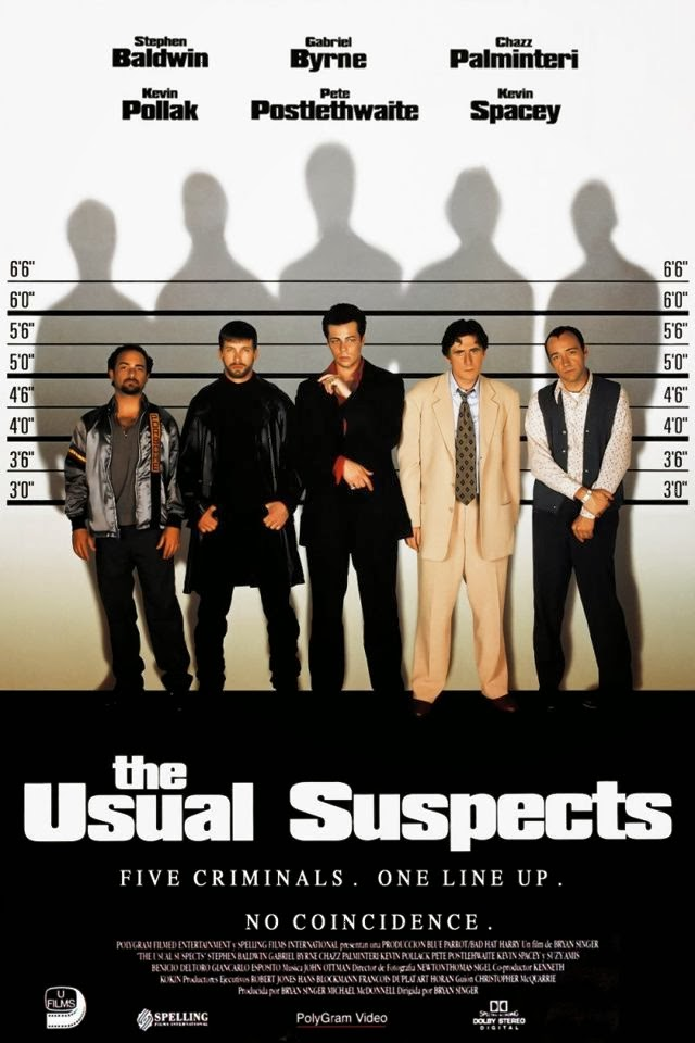 a review of the movie the usual suspects The usual suspects (1995) user score play trailer overview a review by andres gomez 80 great movie with superb performance from kevin spacey, well accompanied with the rest of the cast read all reviews media most popular.