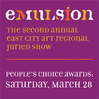 Emulsion Closing Party + People's Choice Awards - this Saturday 3/28 from 7pm-10pm