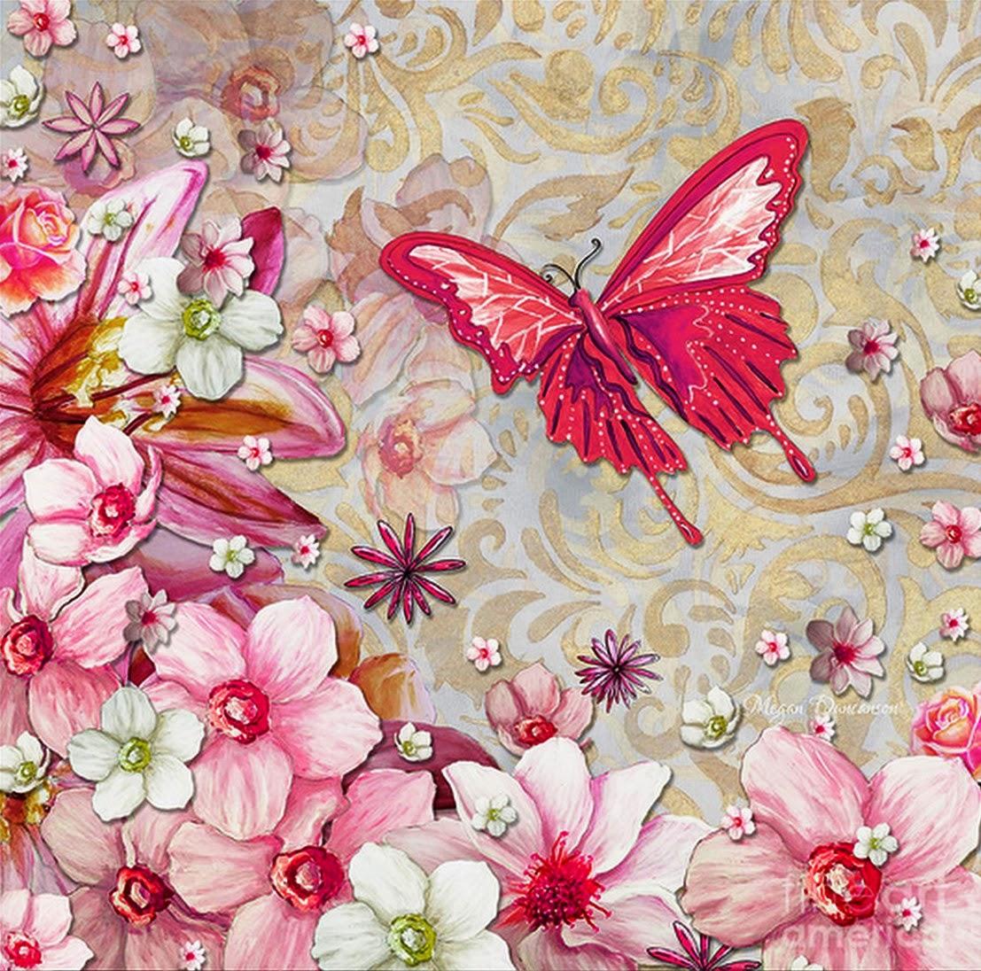 Cuadros modernos pinturas y dibujos pinturas al leo de flores modernas minimalismo puro - Imagenes para cuadros ...