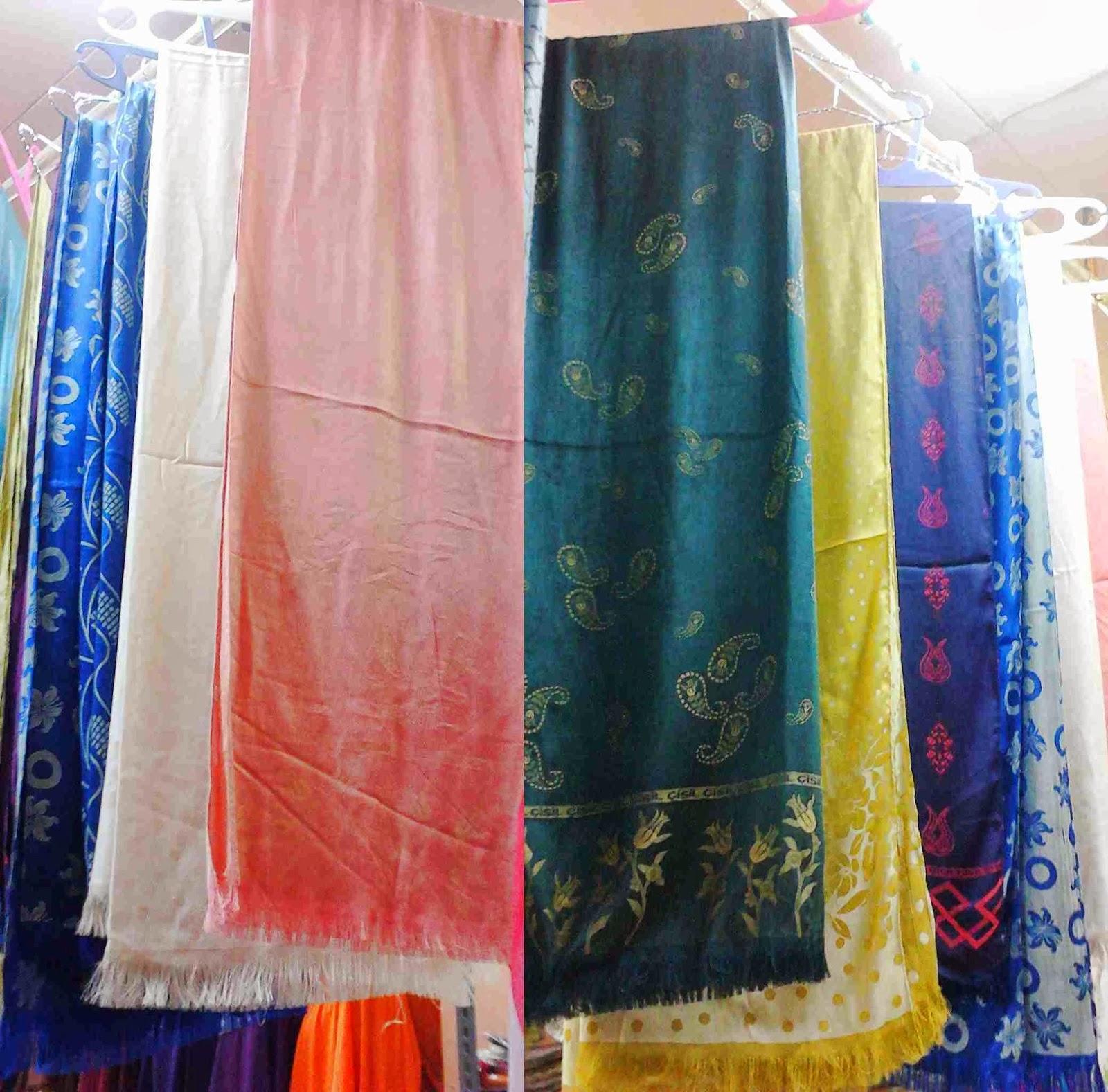 Grosir Pashmina silk