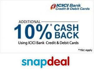 ICICI-cashback-snapdeal-banner