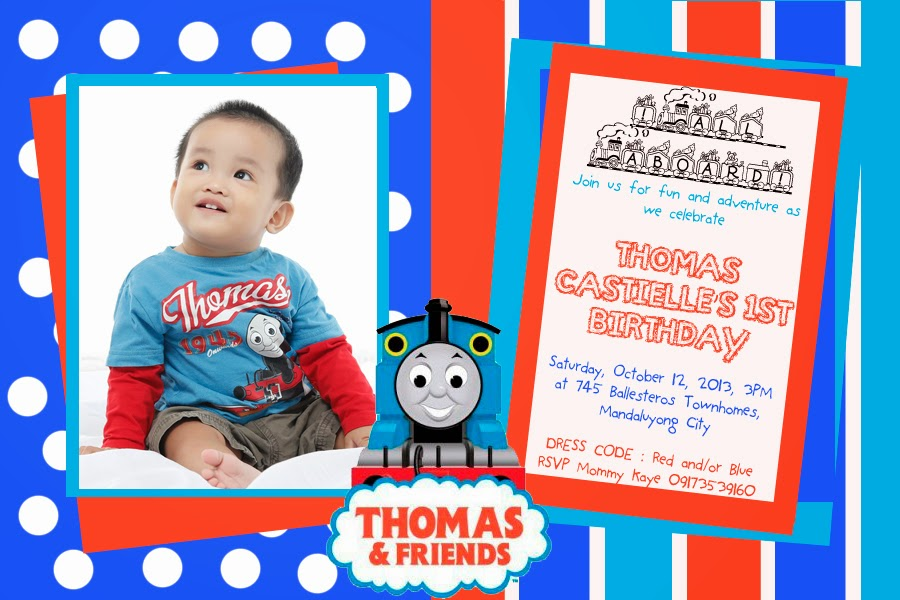 Mom on a Mission: Prepping for Thomas Train Themed Party