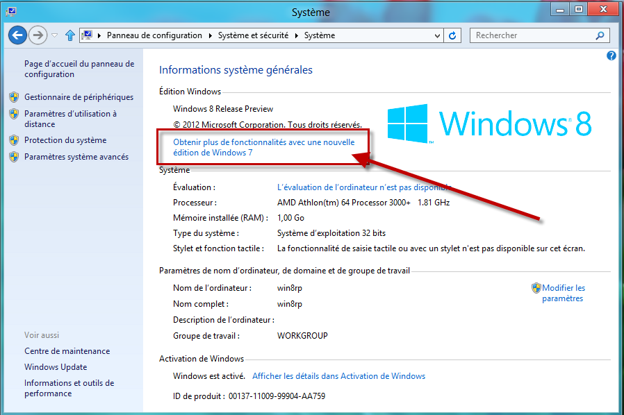 Cle de produit windows 8 gratuit t l charger en ligne - Telecharger console de recuperation windows 7 ...