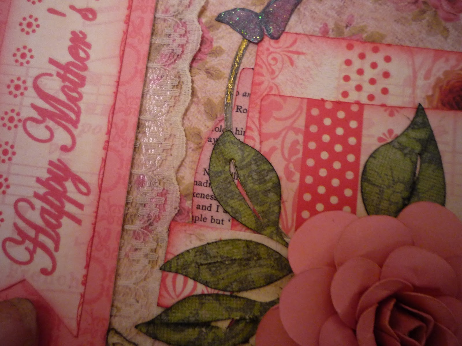 Crafting on the cheap a shabby chic mothers day card the bottom most layer of where the flower is was cut from best images of 2007 tag one the next layer up is a square izmirmasajfo