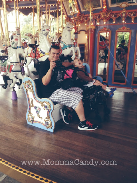 wheelchair accessible Disneyland
