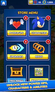 Game Sonic Dash v2.9.0.Go Mod Apk (Unlimited Money)