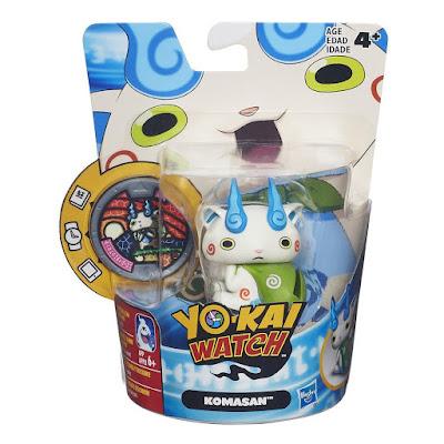 TOYS : JUGUETES - YO-KAI WATCH  Komasan : Figura - Muñeco + Medalla  Serie Televisión - Videojuego 2016 | Hasbro B5940 | A partir de 4 años  Comprar en Amazon España & buy Amazon USA