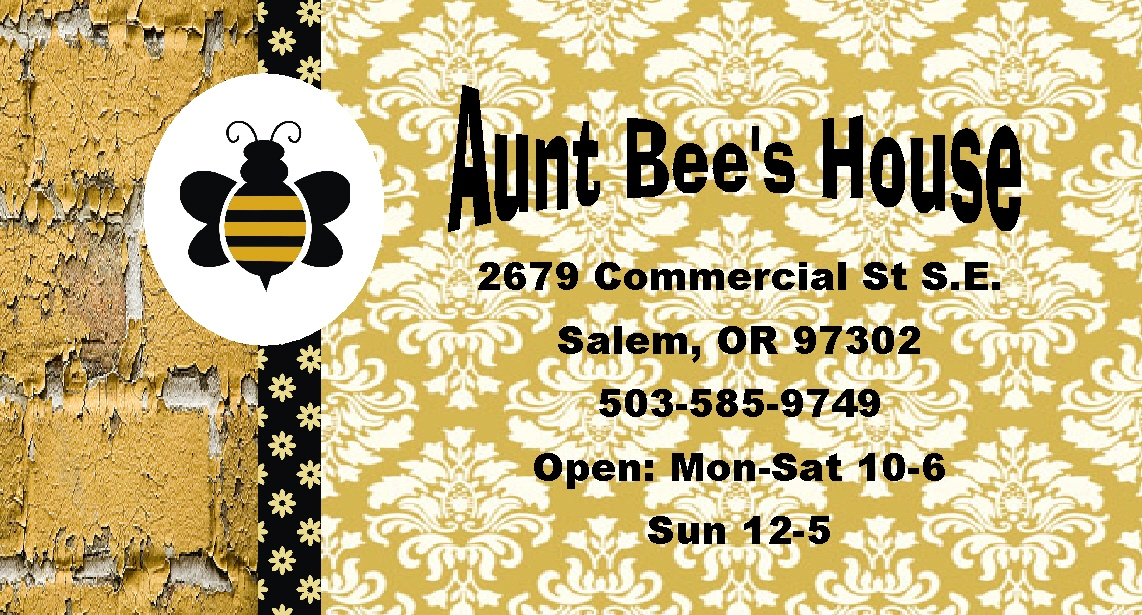 Aunt Bee's House...: Happy Business