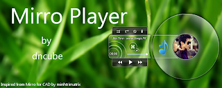 Mirro Player - Audio Player Transparant