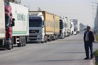 Χοντρό καψόνι! Ρωσικό μπλόκο σε 1250 φορτηγά με τουρκικά προϊόντα στα σύνορα