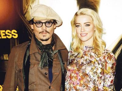 Entertainment, News, Gossip, Celebrities, Johnny Depp, Amber Heard, masih, bersama