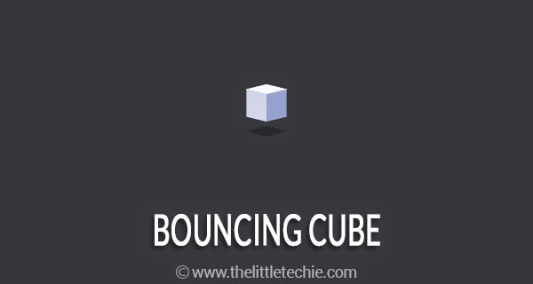 Bouncing Cube
