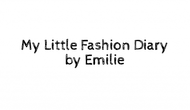 MY LITTLE FASHION DIARY