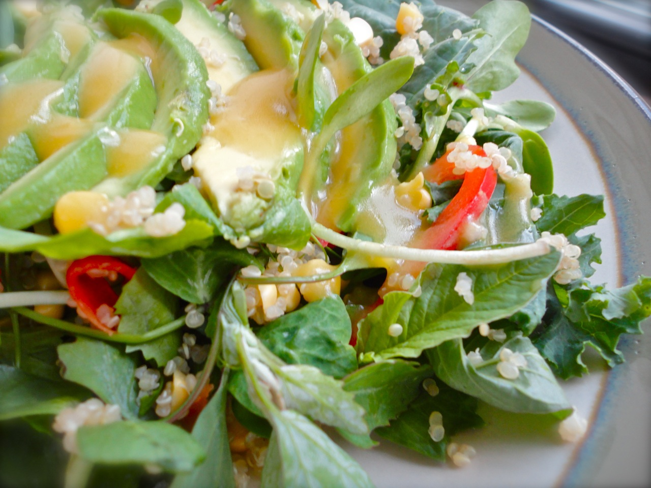 ... out this summer by heat wave after heat wave my craving for salads has