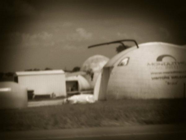 Bruno the caterpillar-shaped assembly hangar