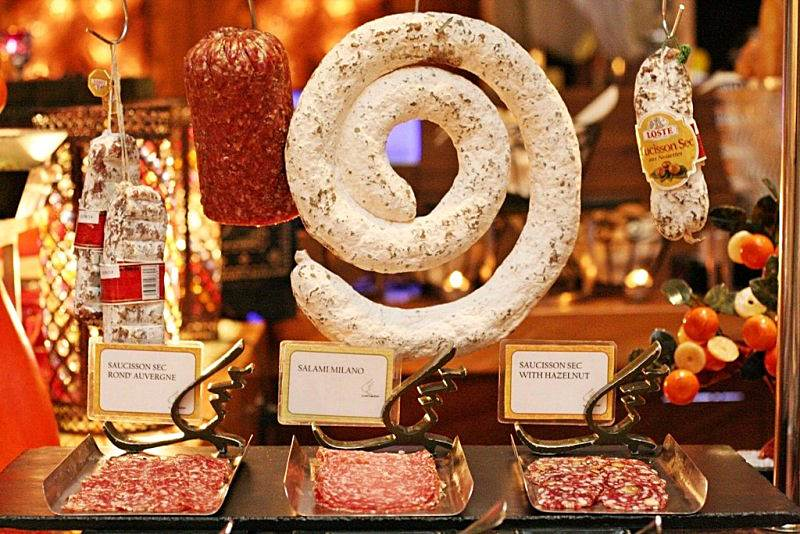charcuterie Arabian Delights Buffet at Diamond Hotel's Corniche