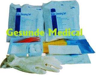 Dressing Set Disposable, baju steril, baju steril sekali pakai,