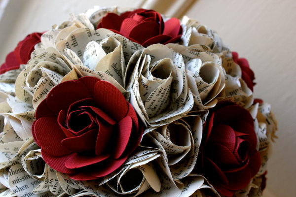 Louisville wedding blog the local louisville ky wedding resource vintage paper flowers at your wedding mightylinksfo