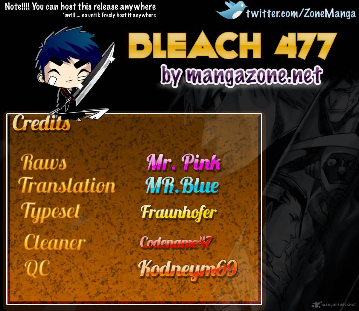 xem truyen moi - Bleach - Chapter 477