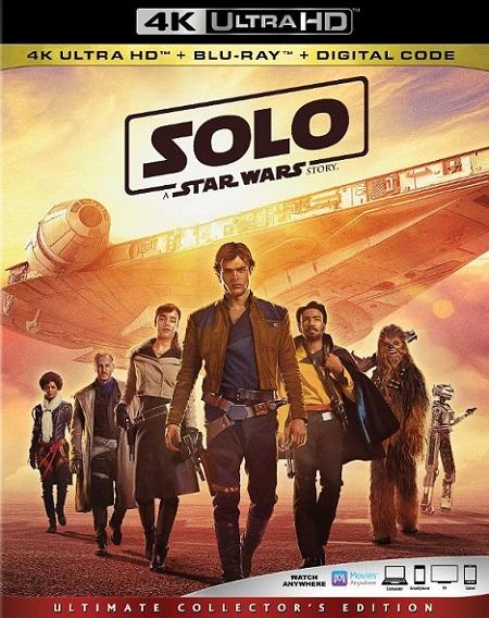 Solo: A Star Wars Story 4K (Han Solo: Una historia de Star Wars) (2018) 2160p 4K UltraHD HDR BluRay REMUX 53GB mkv Dual Audio Dolby TrueHD ATMOS 7.1 ch