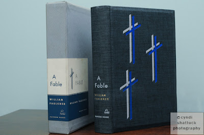 A signed limited edition of William Faulkner's A Fable from 1954
