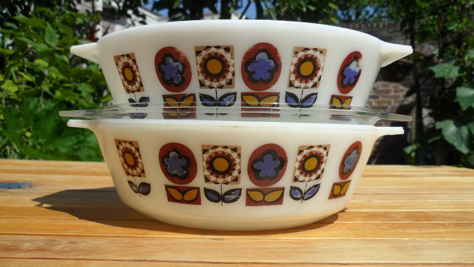 Vintage Pyrex Patterns Amazing Decorating