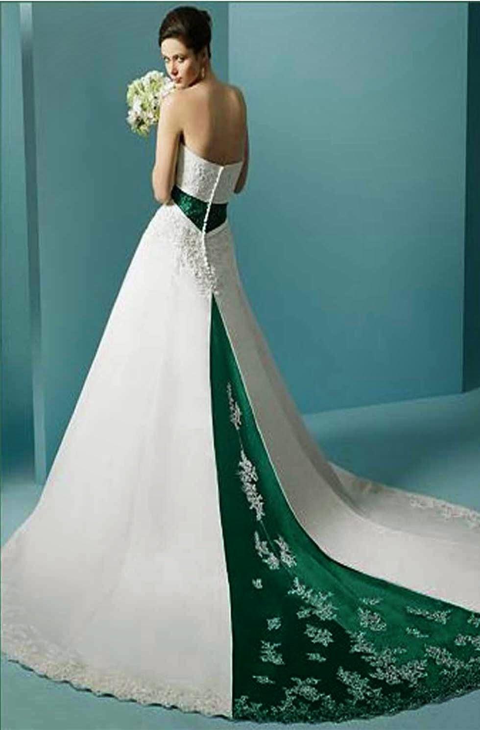 Colored Lace Wedding Dresses Photos HD Concepts Ideas