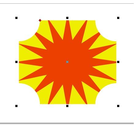 Como colocar um objeto dentro do outro no Corel Draw com o efeito PowerClip