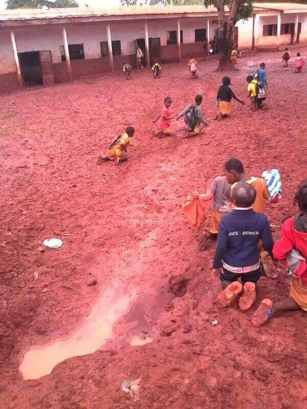 Trending Photos Of How Children Are Punished In Cameroon For Coming Late To School