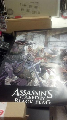 Assassin's Creed 4: Black Flag Leaked Poster At Reddit
