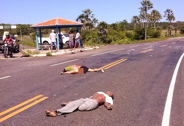 Acidente entre os municípios de Buriti dos Lopes e Caxingó ...