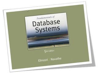 Database Management Systems Dbms Elmasri Navathe