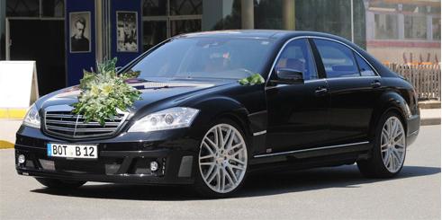 Cho thuê xe cưới Mercedes s63 amg 2011