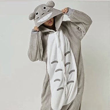 Pijama Disfraz con Capucha Totoro