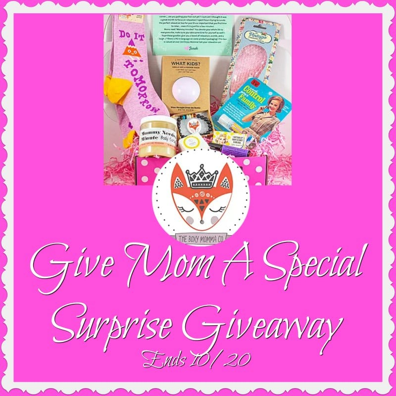 Mom Surprise Giveaway