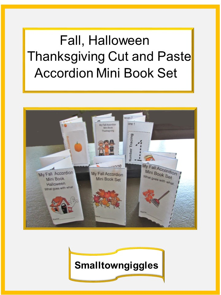Fall Mini Accordion Book