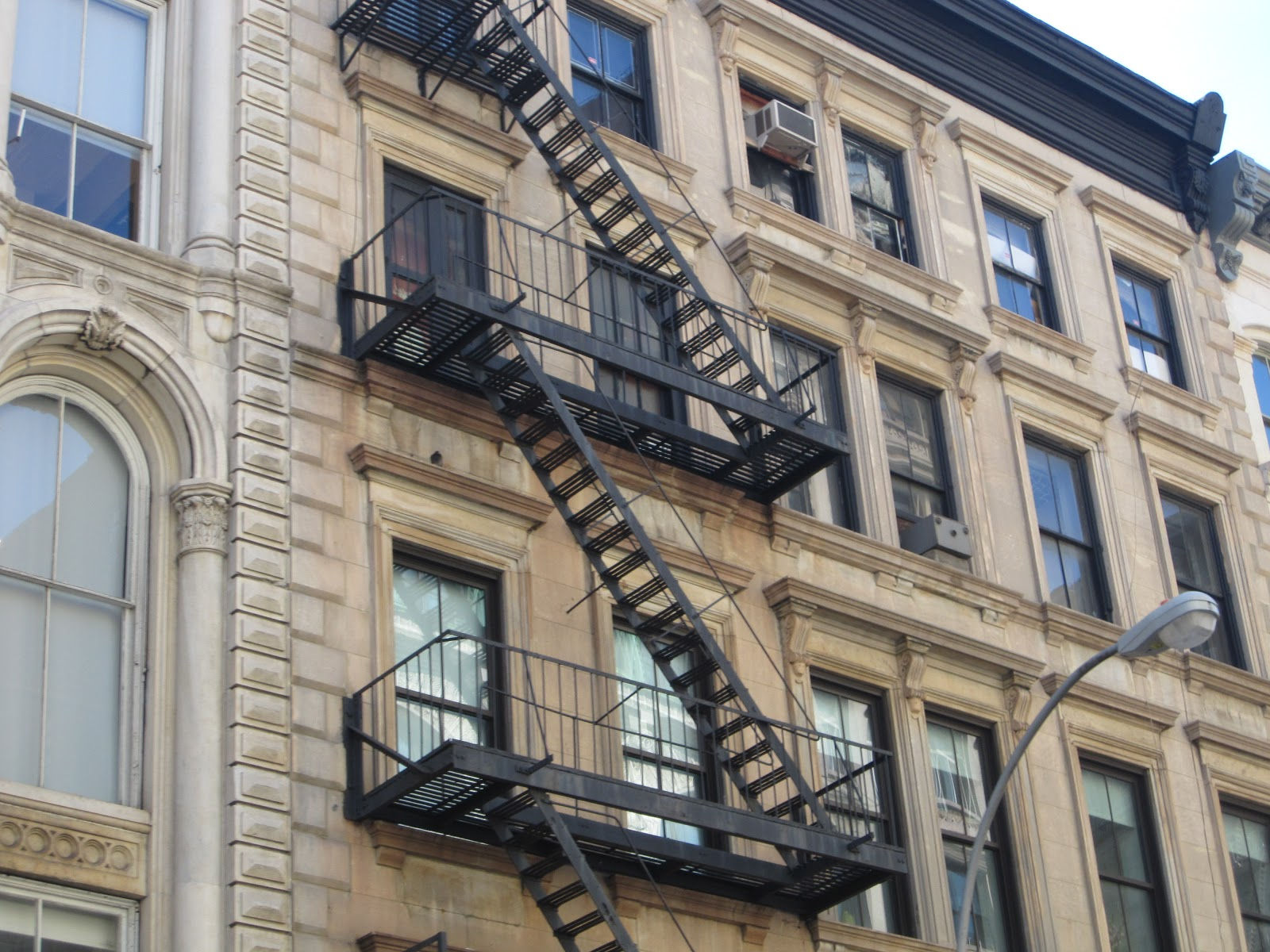 Delightful New York Stairs