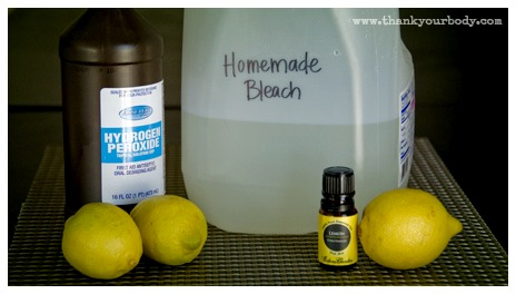 Natural Homemade Bleach Alternative