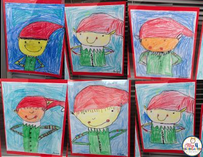 elf drawings, directed drawings