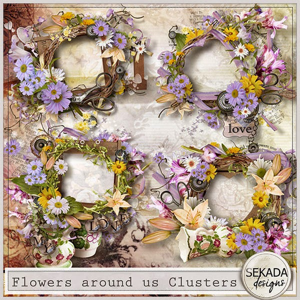 http://www.mscraps.com/shop/Flowers-around-us-Clusters/