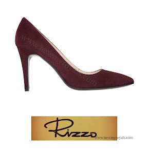 Crown Princess Victoria RIZZO Azelia Suede Pumps