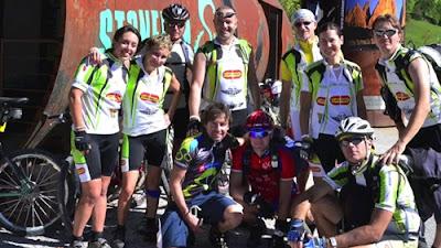 Peserta Tour Sepeda di Italia